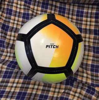 soccer ball nike pitch