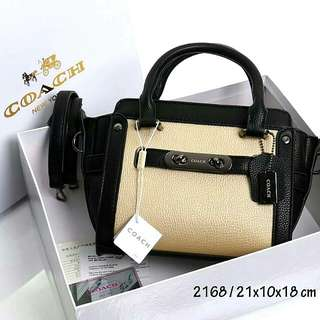 Coach Swagger Premium Bag (Black)