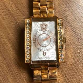 Rhino 正品金銅色手錶