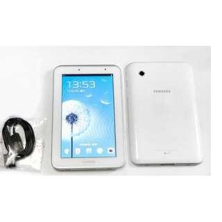9成幾新Samsung Tab2 7.0 p3110 8gb WIFI平板連叉電線Android 4.1.2