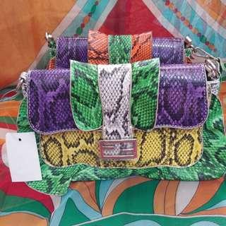 Colorful girly bag