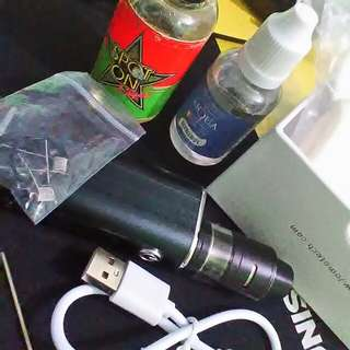 JOMO ULTRA 80 TC VAPE with free cotton and two flavor juice