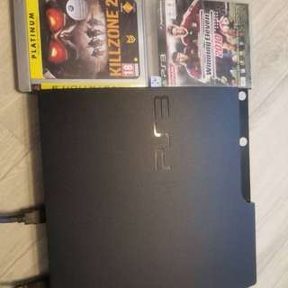PS3 with 5games