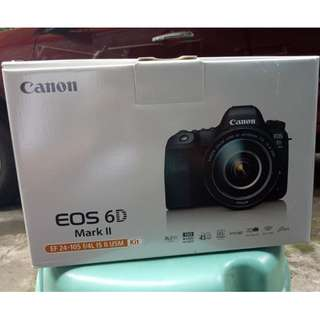 Canon EOS 6D Mark ii   Brand new   Body only