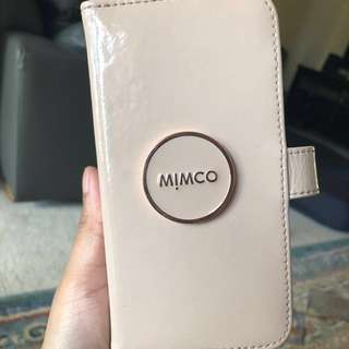 Mimco ENAMOUR FLIP CASE FOR IPHONE X pancake Rrp:$89.95