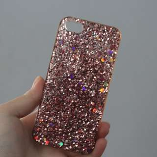 Pink Sparkly iPhone 5s Case