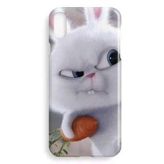 Snowball iPhone X soft plastic Case