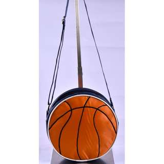 Kids Round Pouch - Theme Sports ( Basketball )