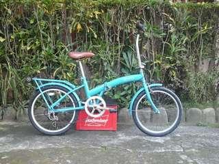 Paris Folding Bike