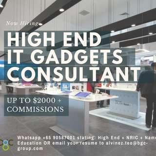 GADGETS SALES PROMOTER UP TO $2200 + COMMS (AZ)