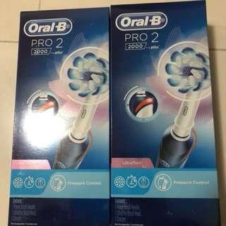 電動牙刷oral-b 300一个