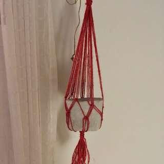 """22"""" Hanging Planter"""