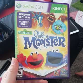 Once upon a monster xbox kinect game