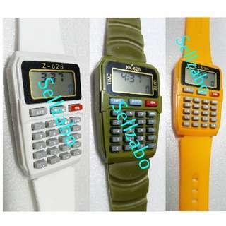 Watch With Calculators Kids Children Sellzabo Boys Girls Watches Accessories
