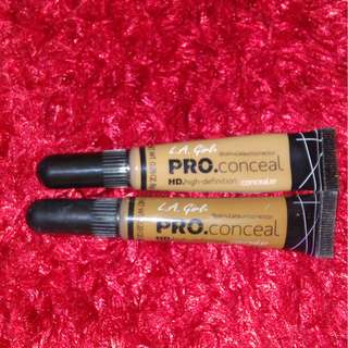 L.A. Girl HD Pro Concealer Bundle (Almond and Chestnut)
