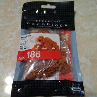 Nanoblock NBC_186 Mammoth 長毛象