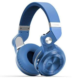 Bluedio T2+ Turbine Huricane Wireless Bluetooth Headphone