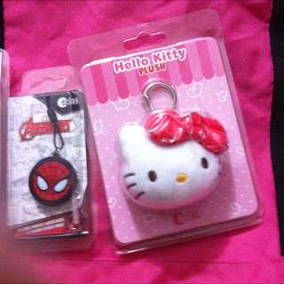 Spiderman And Hello Kitty Charm