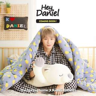 Wanna One Daniel Kang 姜丹尼爾代購 LAP The Spring Home