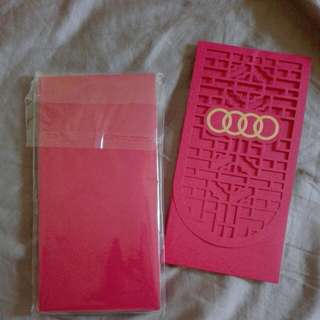 2018 AUDI RED PACKET