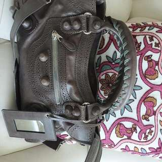 Balenciaga Handbag With Sling And Mirror