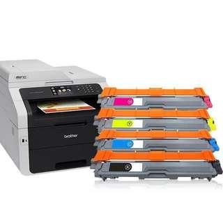 Brother TN281/ TN261 laser printer ink cartrige/printer refill MFC - 9330CDW toner