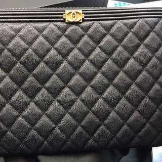 Authentic Chanel Boy O Case
