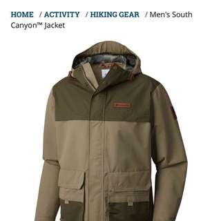 Columbia Men's South Canyon Waterproof Breathable Jacket