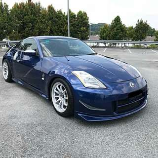 NISSAN FAIRLADY 350Z MANUAL