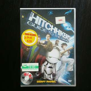 Hitchhikers guide to the universe dvd