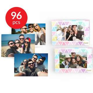 4R Photo Print 96 pieces