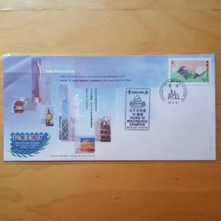 太平洋地區97郵展紀念封 Pacific 97 World Philatelic Exhibition Souvenir Cover