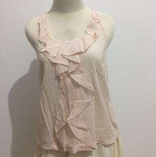 Soft pink top - baju cewek