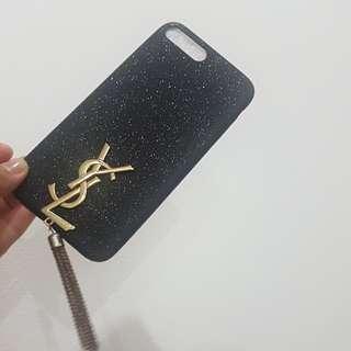 Hardcase Black YSL iphone 7 plus