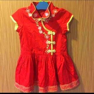 Chinese New Year Baby Girl Dress