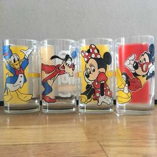 Rare Mickey Mouse Cup Set