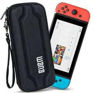 *清貨* 任天堂 Nintendo Switch BUBM 保護套 硬套 靚料 高質 品質保證 新 黑色 現貨