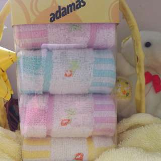 100% Cotton Baby Towel / Handkerchiefs