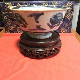 Antique China porcelain shipwreck