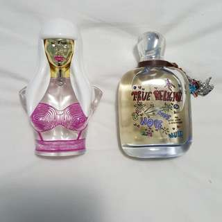Nicki Minaj and True Religion perfume