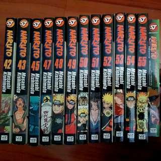 Naruto Shippuden Shonen Jump Mangas