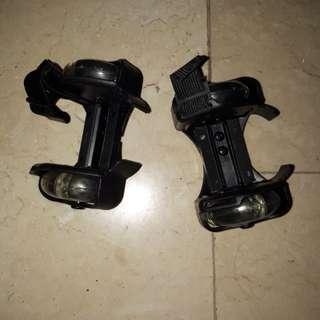 Roller skates adjustable