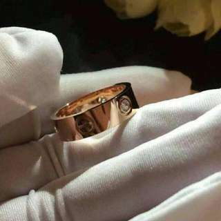 Cartier Love Rings