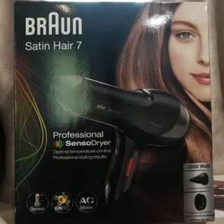 Braun Satin Hair 7 Hair Dryer (2000w)