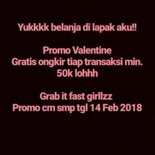 Promo Valentine!!!