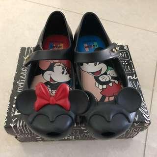 Mini Melissa Ultragirl + Disney Shoes