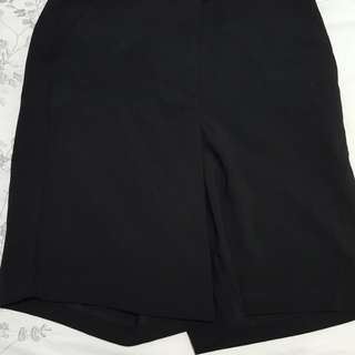 Forever 21 over the knee dress shorts