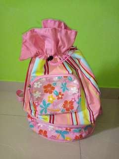 Diaper bag with milk bag