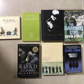 Books - Fiction ($4), Non- Fiction ($4), Magazines ($2)