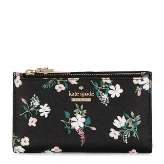 KATE SPADE NEW YORK Cameron Street Mikey floral leather wallet
